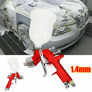 Car Autos 1 4mm Nozzle Hvlp Spray Paint Primer Gun Sprayer Set Up 600ml