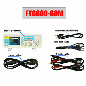 Dds Function Signal Generator Dual channel Source Frequency Counter 60mhz