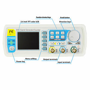 30mhz Dual channel Arbitrary Waveform Dds Multifunctionsignal Generator Counter