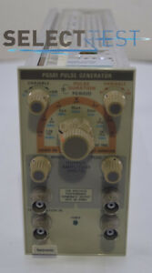 tektronix Pg501 Pulse Generator Plug in