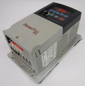 Allen Bradley Series A Powerflex 40 Ac Drive Unit Part No 22b d2p3h204