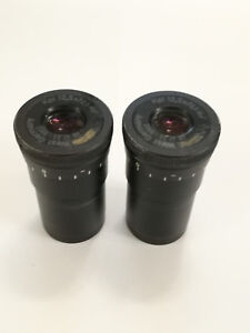 Eyepieces For A Microscope Kpl 12 5 Carl Zeiss West Germany