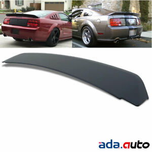 Ducktail Style Rear Trunk Spoiler For 2005 2009 Ford Mustang Gt500 Black