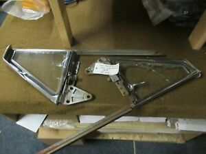 1949 1952 Chevy Convertible Vent Window Frames