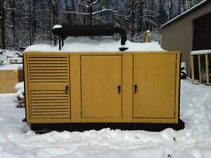 Caterpillar 3406 Cat 210 Kw Diesel Generator Set Model Sr 4 263 Kva 678 Hrs