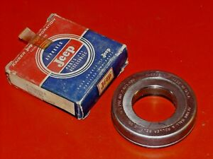 Nos 1954 65 Kaiser Willys Jeep Manual Transmission Clutch Release Bearing 700003