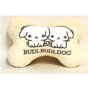 Budlbudldog White Cute Cartoon Car Seat Headrest Neck Cushion Pillow One Pair