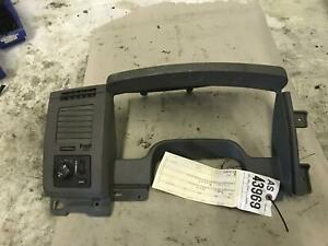 2006 2009 Dodge Ram 2500 3500 Slt Grey Cluster Surround Bezel Tag As43969