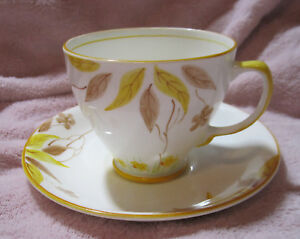 Sampson Smith Bone China Tea Cup Saucer Set Old Royal China Made In England