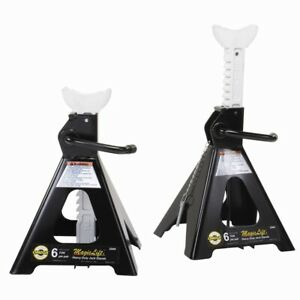 6 Ton Magic Lift Jack Stands Ome32066 Brand New