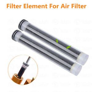 2x Oil water Separator Filter Filtration For Scuba Diving Pcp Air Compressor