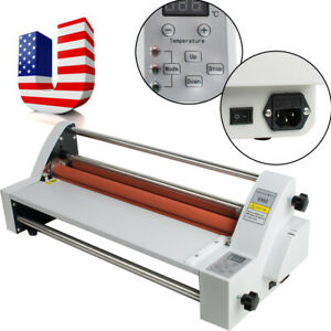 Digital Display Electronic Single double sided Hot cold Roll Laminating Machine