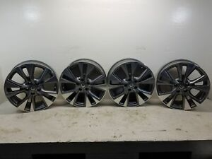 2017 Nissan Murano Set Of 4 Aluminum Wheels 5 Split Spoke Wheels 18 Inch Oem