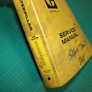 Cat Caterpillar D5b Tractor Crawler Repair Shop Service Maintenance Manual Book
