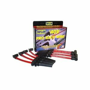 Taylor Cable 79210 Spark Plug Wires Fits Dodge 10 4mm