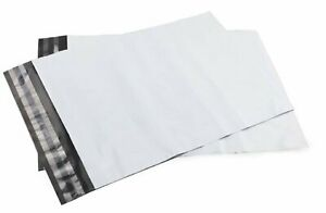 100 Bags 26x32 White Poly Mailer Large Plastic Shipping Bag 2mil 10 26 X 32