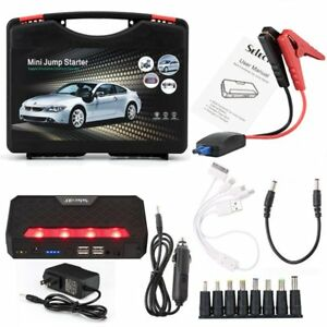 68800mah Lithium Auto Car Jump Starter Emergency Battery Power Bank 12v Charger