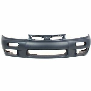 Bumper Cover For 97 98 Mitsubishi Galant 2 4l Front Primed With Emblem Provision