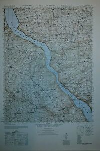 1940 S Army Topo Map Mccalls Ferry Pennsylvania Sheet 5763 Iv