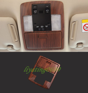 Peach Wood Grain Front Reading Lamp Cover Trim For Toyota Prado Fj150 2010 2019