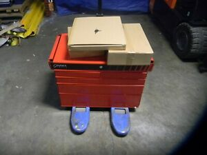 Sunex 5 Drawer Steel Service Cart 30 X 41 X 16 500 Lb Capacity Model 8045