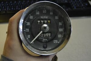 Used Smiths Speedometer Sn 6144 00 For 1967 Mgb Midget Morris Austin Healey