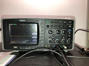 Lecroy Waveace 222 Color Oscilloscope 200mhz 2 Chan 2gs s With 2 Of Pp016 Probes