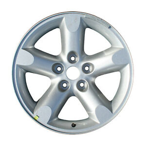 Factory Oem Alloy Wheel 20 X 9 5 Spokes Sparkle Silver Full Face Painted