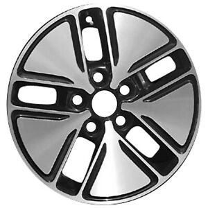 16 X 6 5 5 Spoke Refurbished Oem Kia Alloy Wheel Machined And Black 74654