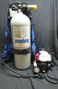Isi Vanguard Fire Rescue Luxfer Air Tank With Backpack Harness And Mask