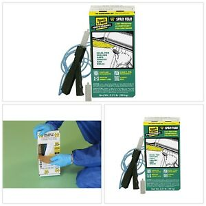 2 Component Spray Foam Kit 15 Board Foot Polyurethane Paintable Fire Resistance