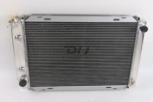 3 Rows Aluminum Radiator For 1979 1993 Ford Mustang Gt Lx 5 0l V8 302 Polished