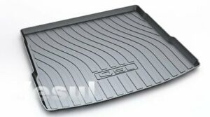 For Audi Q5 2018 2019 Rubber Cargo Cover Liner Trunk Tray Floor Mats Black