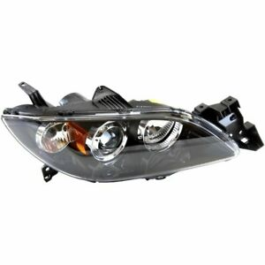 Headlight For 2004 2005 2006 Mazda 3 Sedan Right Hid