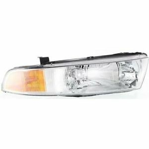 Headlight For 99 2001 Mitsubishi Galant Right Clear Lens Halogen Composite Type