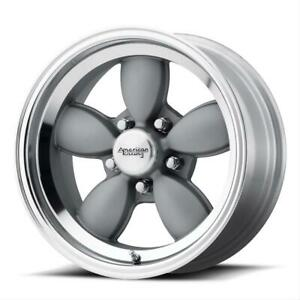 American Racing Vn504 Mag Gray Wheels With Mirror Lip Vn50457050400