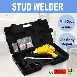 Auto Stud Welder Starter Kit Hammer Gun 4550 Dent Repair 110v With Nails