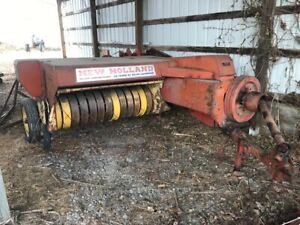 Used New Holland 268 Hay Baler Silver Anniversary Addition For Sale