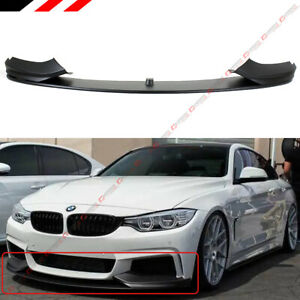 Performance Style Front Lip Splitter For 2014 19 Bmw F32 4 Series M Sport Bumper
