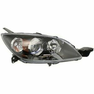 Headlight For 2004 2005 2006 2007 2008 2009 Mazda 3 Right Halogen