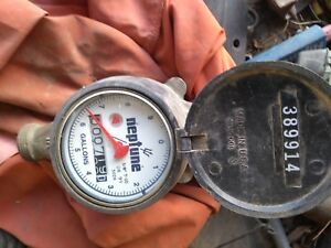 Neptune 5 8x3 4 New T 10 Water Meter Used Little