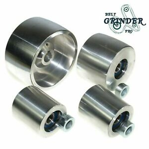 Belt Grinder 2 x72 Wheel Set Knife Grinder 4 Drive 5 8 Bore 3 Track 2 Idler