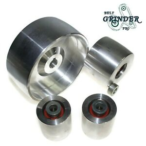 Belt Grinder 2x72 Wheel Set Knife Grinder 5 Drive 5 8 Bore 3 Track 2 Idler