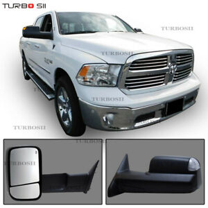 Pair For 2002 08 Dodge Ram 1500 03 09 2500 3500 Power Heated Signal Tow Mirrors
