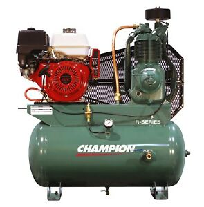 Champion Hgr7 3h 13hp Honda Gas Powered Air Compressor Belaire 3g3hh
