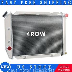 3 Row Aluminum Radiator For 1969 1970 1971 Ford Mustang Ltd 302 429ci V8 5 0 7 0