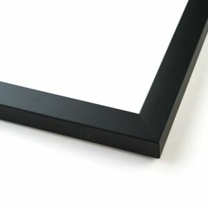 42x32 Black Wood Picture Frame With Acrylic Front And Foam Board Backing