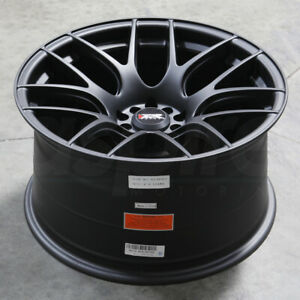 16x8 Flat Black Wheels Xxr 530 4x100 4x114 3 20 Set Of 4