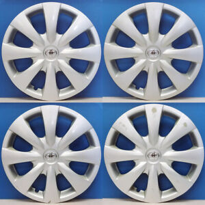 2009 2013 Toyota Corolla Le Base 61147c 15 Hubcaps Wheel Covers On Sale