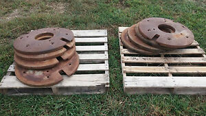 Tractor Weights Front And Rear Wheel Weights